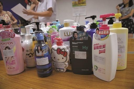 6成4沐浴乳含防腐劑 人體易過敏